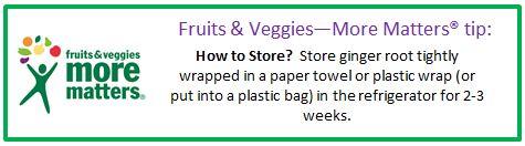 Fruits & Veggies--More Matters tip textbox