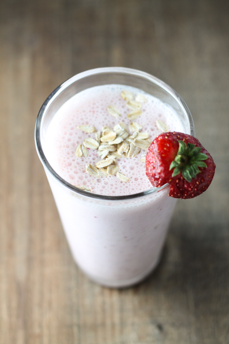 Fruit and Oatmeal Smoothie