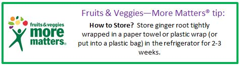 Fruits & Veggies--More Matters tip textbox