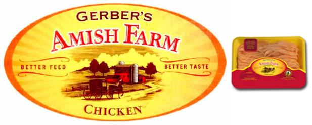 Gerber's Amish Farm Ground Chicken #festfoods