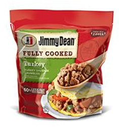 Jimmy Dean® Hearty Turkey Sausage Crumbles #festfoods