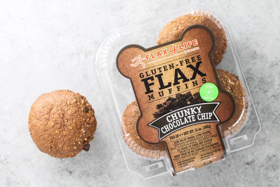 Flax4Life Gluten Free Flax Muffins