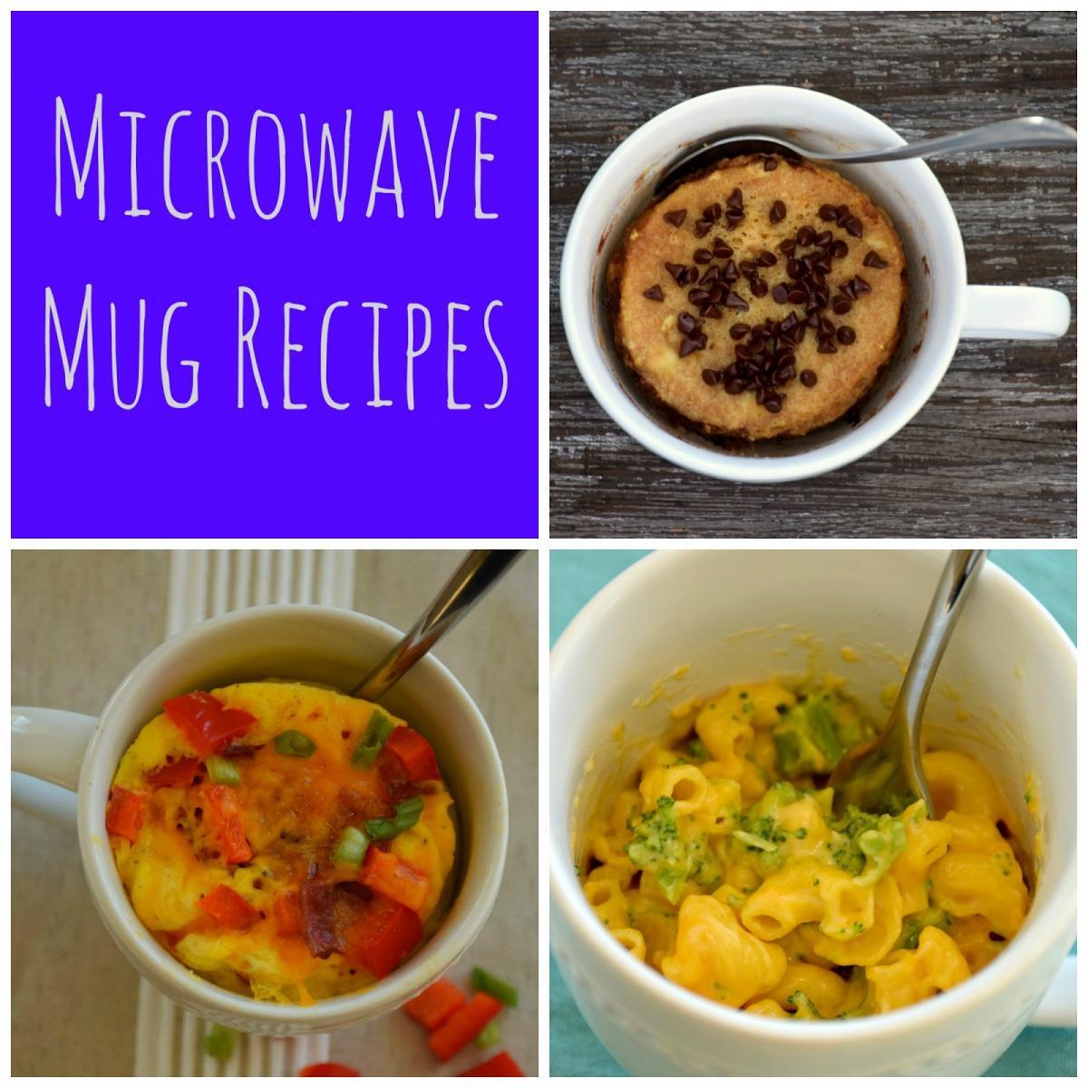 Microwave Mug Recipes Blog Festival Foods