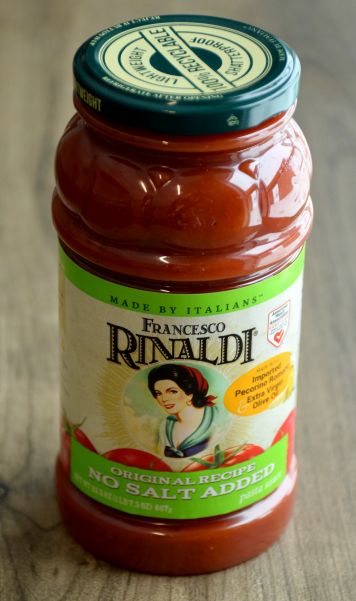 Francesco Rinaldi® No Salt Added Original Recipe Pasta Sauce
