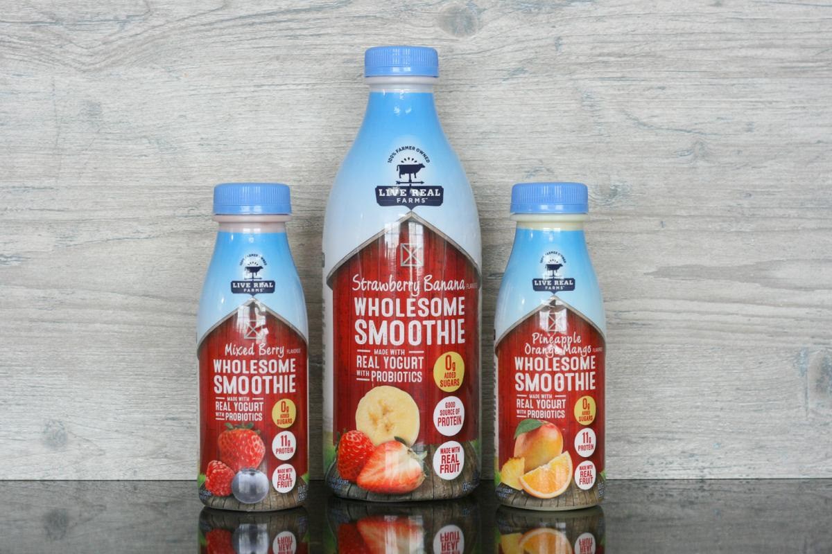 photo of Live Real Farms Wholesome Smoothies