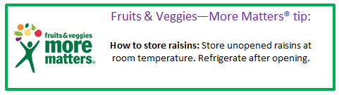 fruits and veggies more matters tip