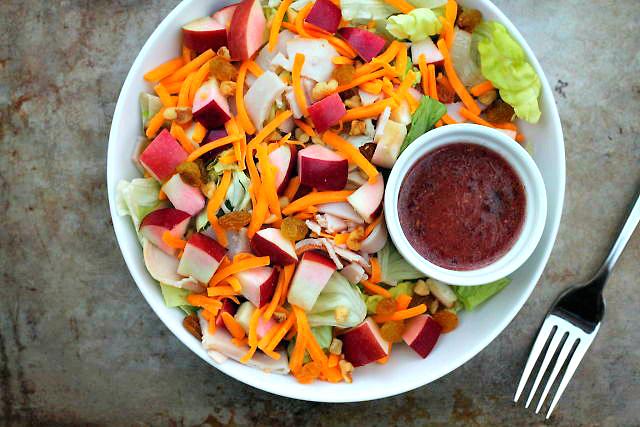 Raisin, Apple & Walnut Salad | Eat Well at Festival Foods