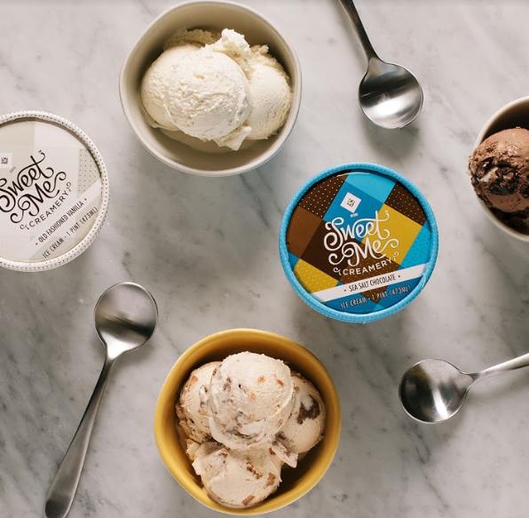Sweet Me Creamery ice cream