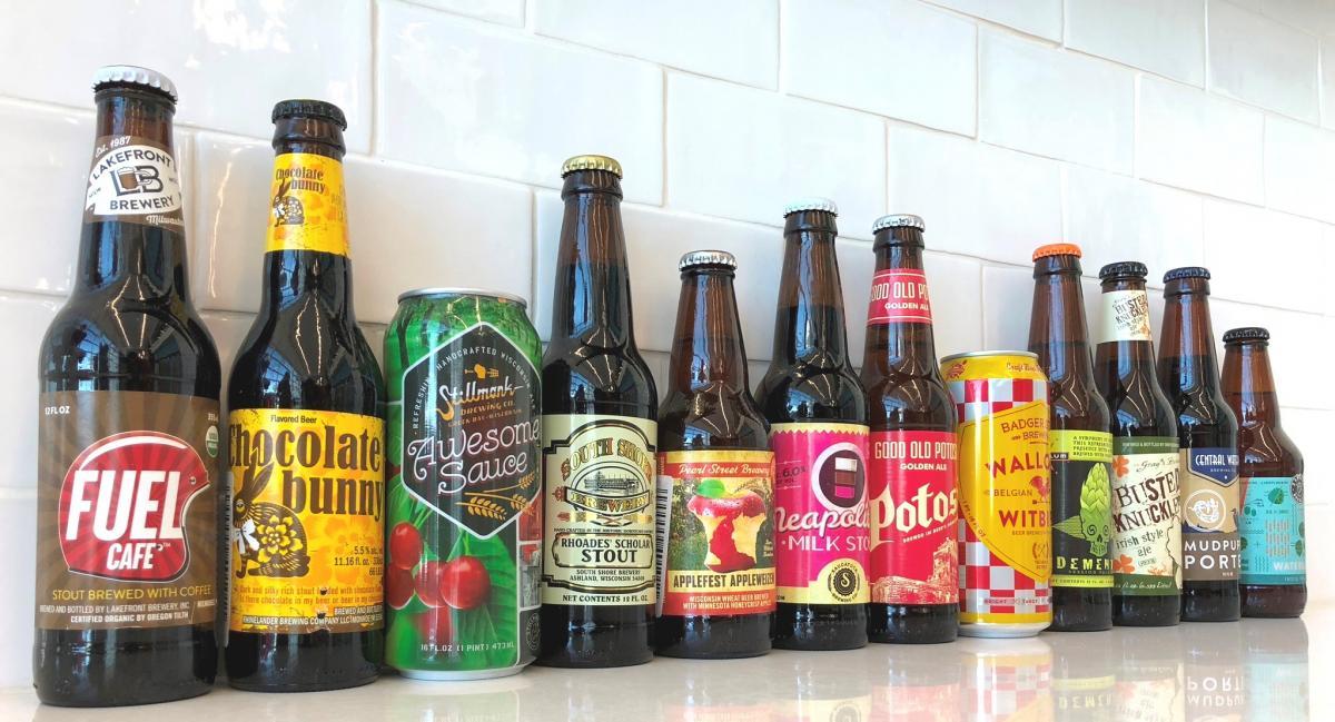 Photo of craft beers