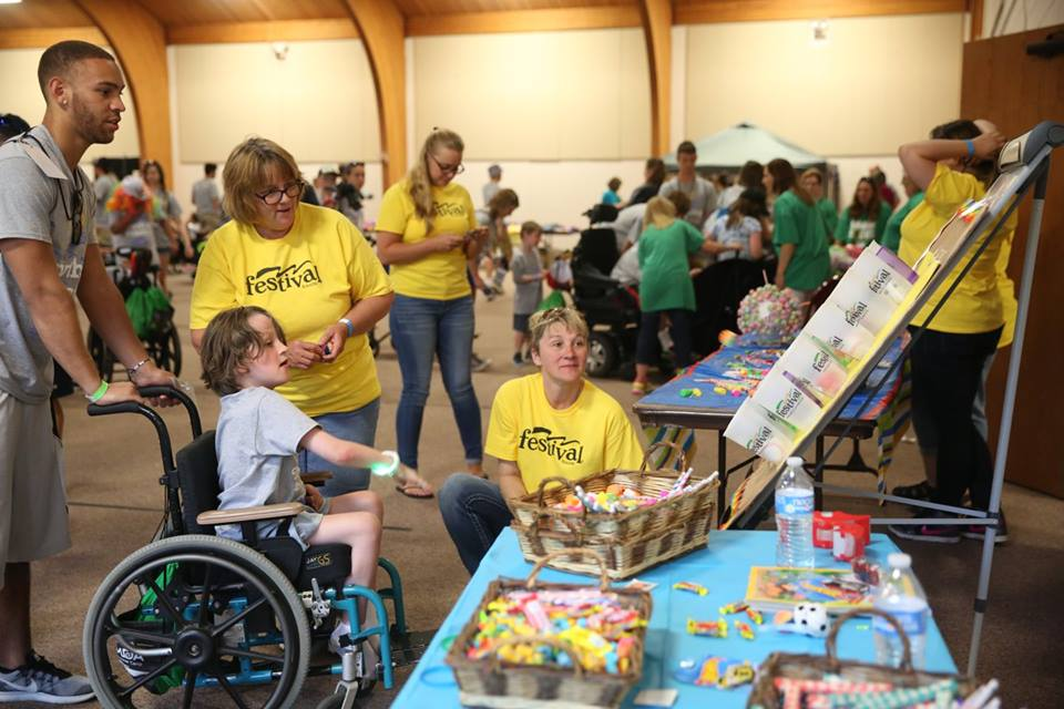 Festival Foods helps at camp