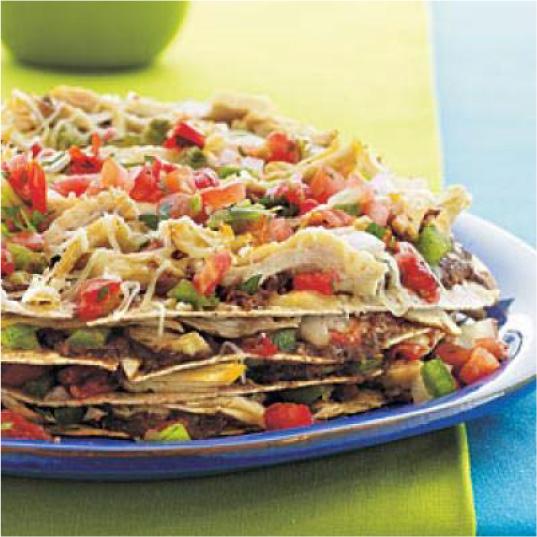 Chicken Tortilla Pie #festfoods