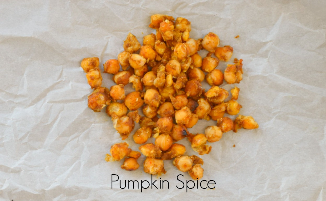 Pumpkin Spice Roasted Chickpeas | Eat Well with Festival Foods