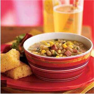 20 Minute Meals: Summer Corn and White Bean Soup #festfoods