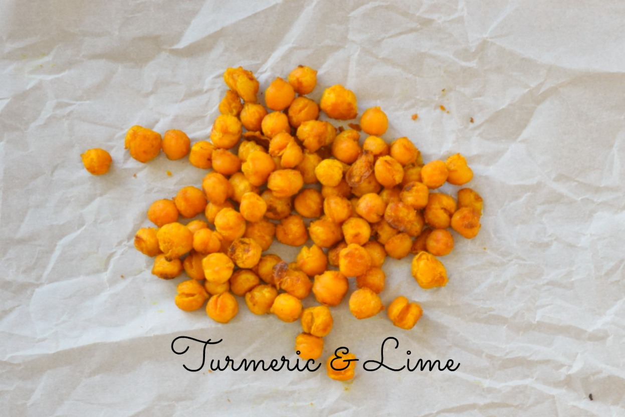 Turmeric & Lime Roasted Chickpeas | Eat Well with Festival Foods