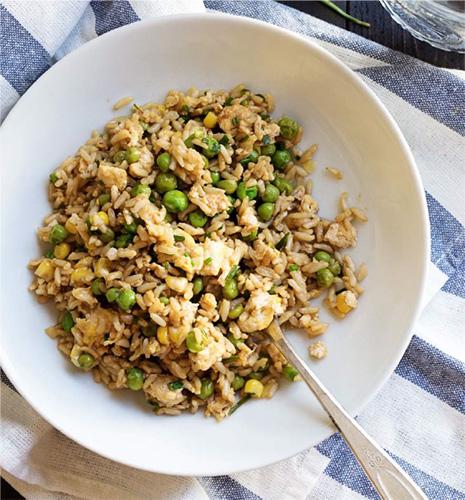 Veggie Fried Rice #festfoods
