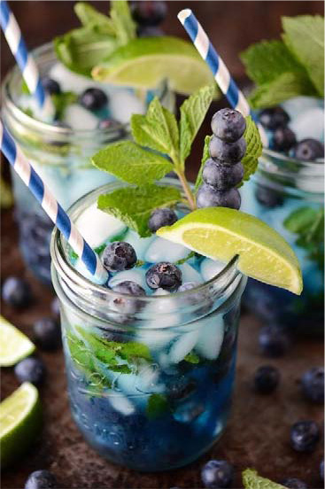 Blueberry Maple Mojito #festfoods