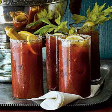 Vegetable Juice Punch #festfoods
