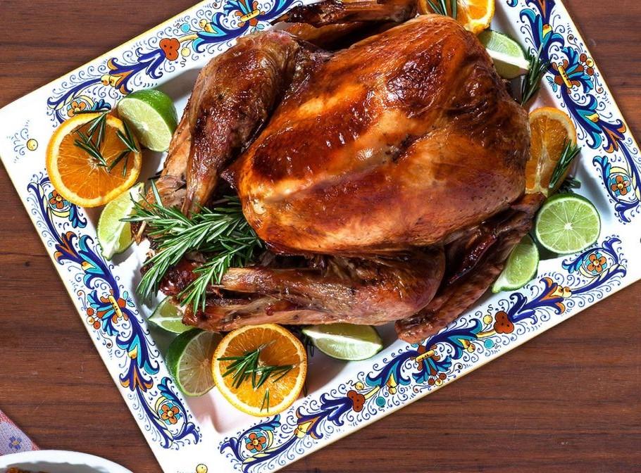 turkey on a plate