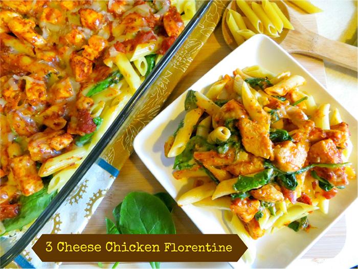 3 Cheese Chicken Florentine #festfoods