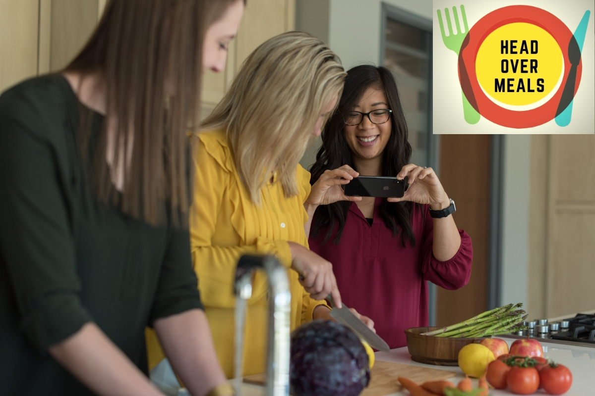 Head Over Meals logo with Mealtime Mentors - body