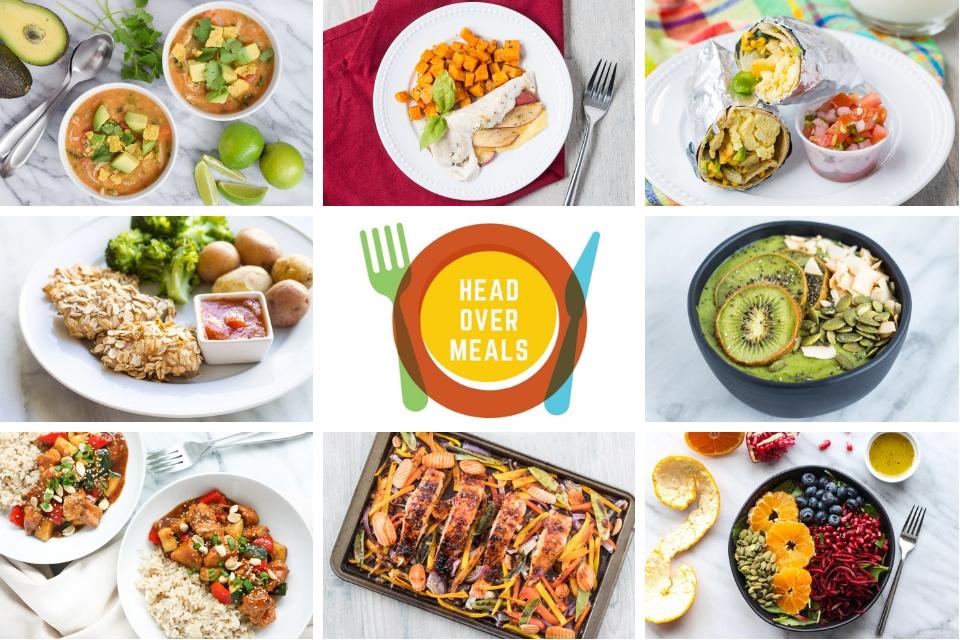 Head Over Meals food