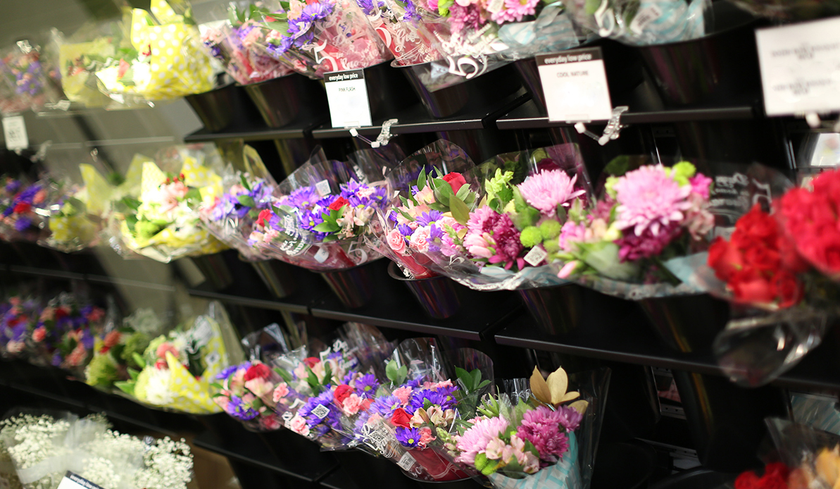 Valentine's Day Flowers at Festival Foods