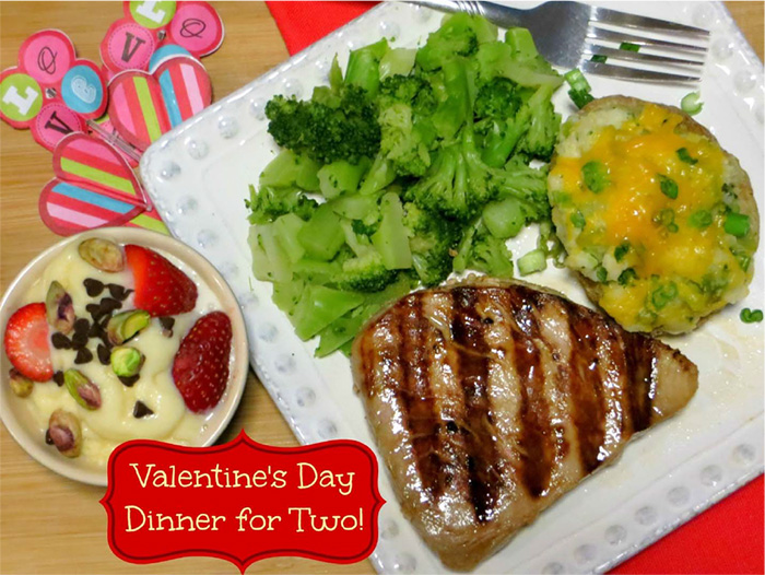 Valentine's Day Dinner for Two: Grilled Ahi Tuna Steak #festfoods