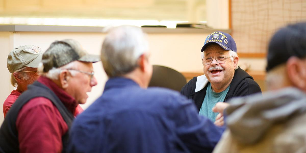 Veterans Heroes Cafe at Festival Foods
