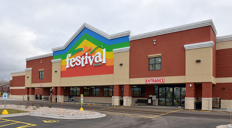Front of Festival Foods