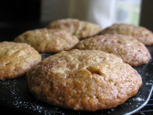 Banana Sour Cream Muffins