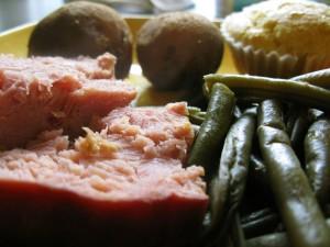 Slow Cooker Freezer Meals - Crockpot Ham and Green Beans