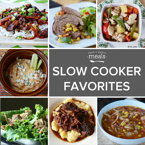 Tricia's favorite slow cooker meals