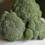 sliced diced broccoli