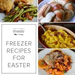 Freezer Recipes for Easter