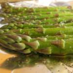 sliced diced asparagus