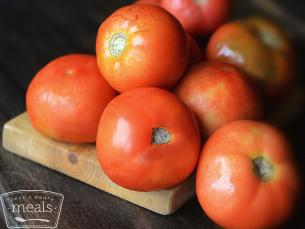 How To Freeze Tomatoes Once A Month Meals