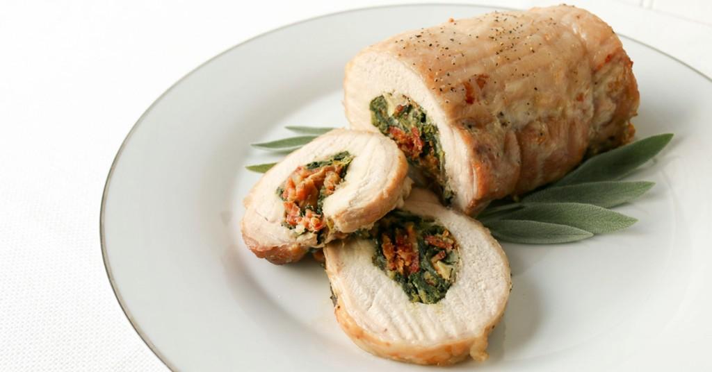 Allergy Friendly Freezer Recipes - GFDF Stuffed Pork Roast