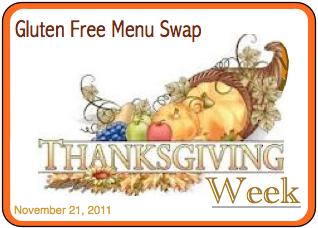 Gluten Free Menu Swap Thanksgiving Week