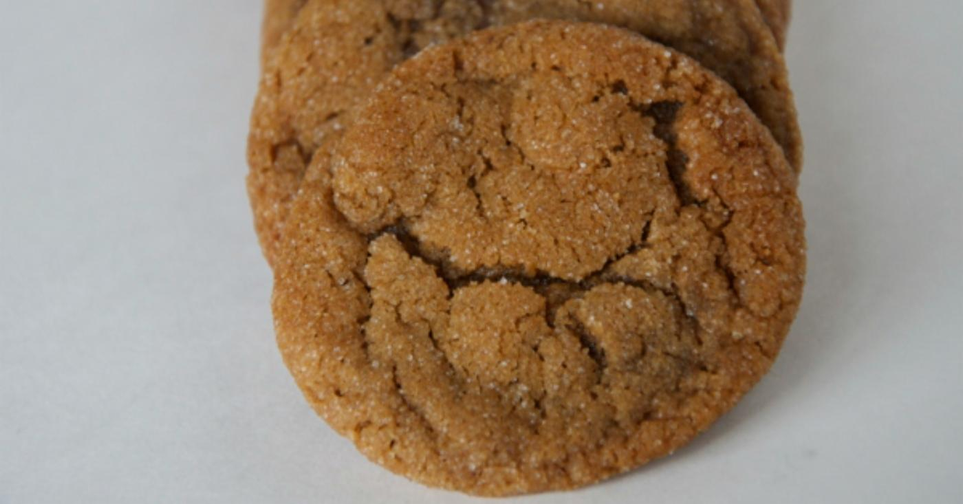 Chewy Molasses Spice Cookies | Once A Month Meals