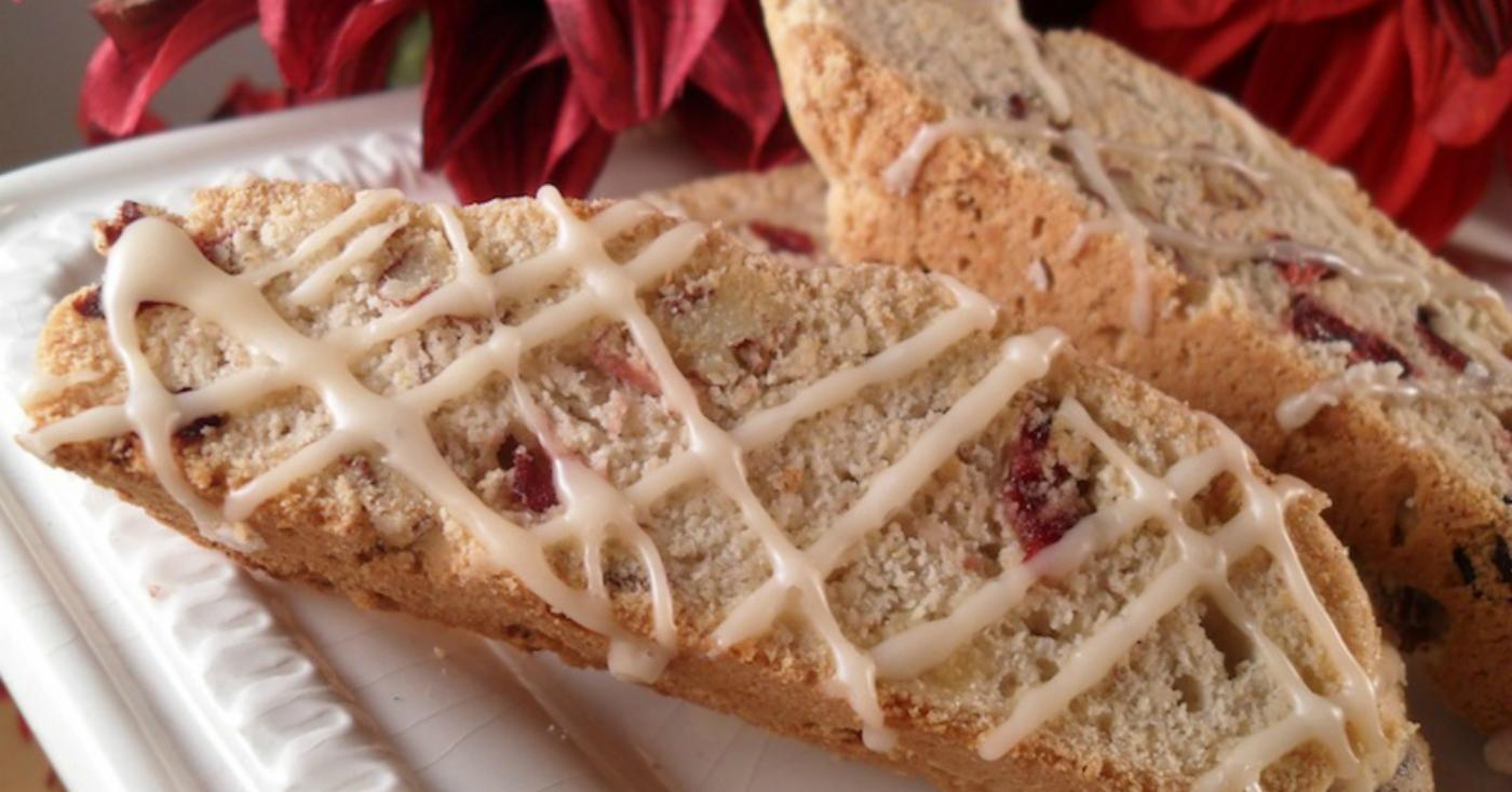 Gluten Free Dairy Free Cranberry and Pecan Biscotti | Once ...
