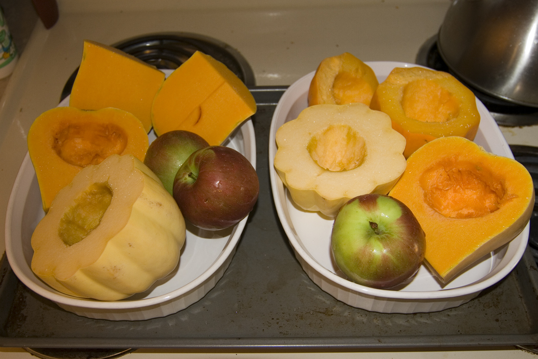 Ingredients for Sweet Fall Squash Soup