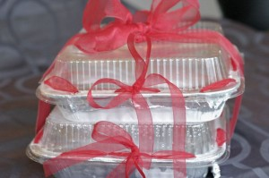 gifted freezer meals