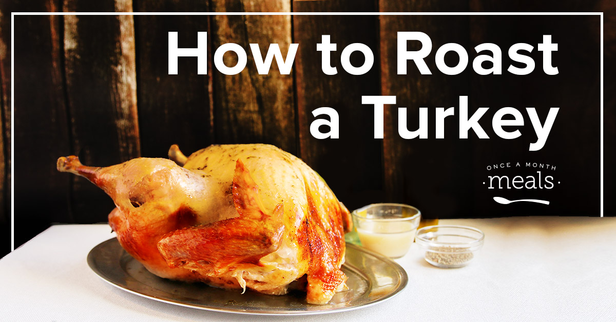 ... to walk you through how to roast a turkey for any holiday gathering