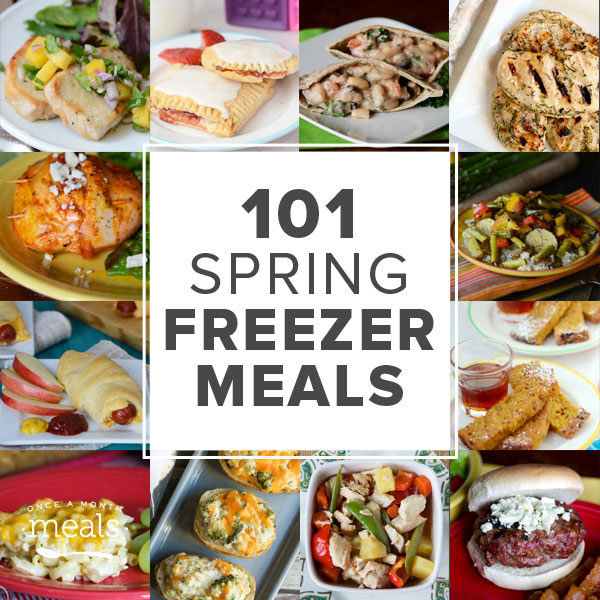 101 Spring Freezer Meals