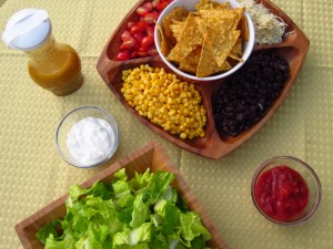 Fiesta Salad and Vinaigrette
