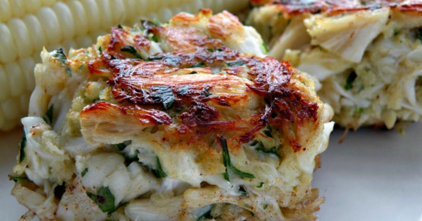 Calories Crab Cake Salad
