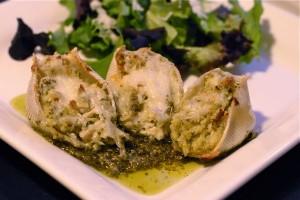 Chicken Pesto Shells