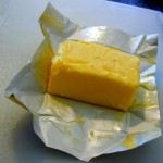 eating real butter and cheese