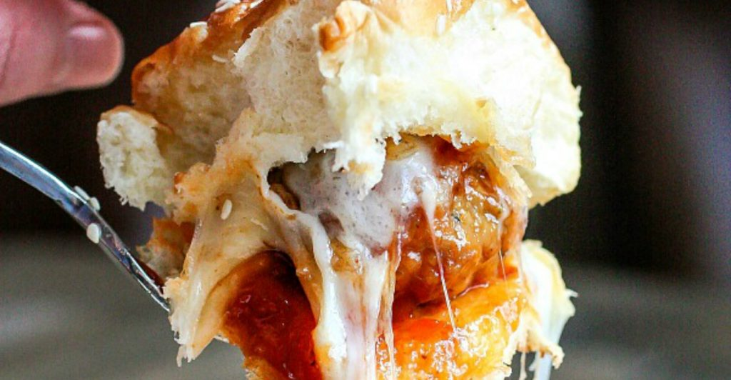 Easy BBQ Meatball Sliders from Home. Made. Interest.