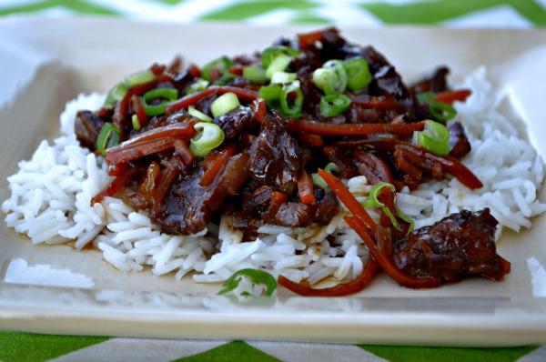 Fall Freezer Meals Crockpot Mongolian Beef